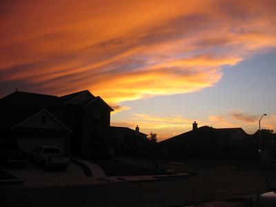 18-Jul-2005 red sky