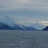 Driving South on Seward Hwy along Turnagain Arm going to Girdwood.