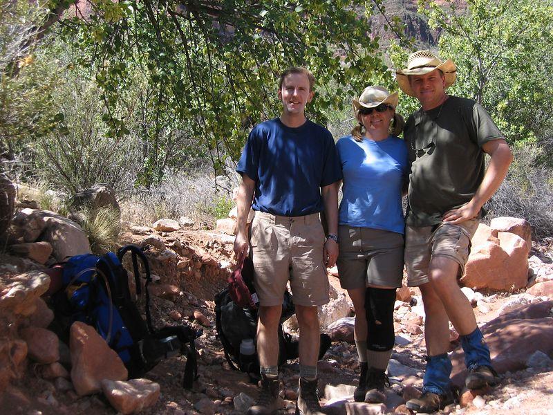 Rest stop in Boulder Creek