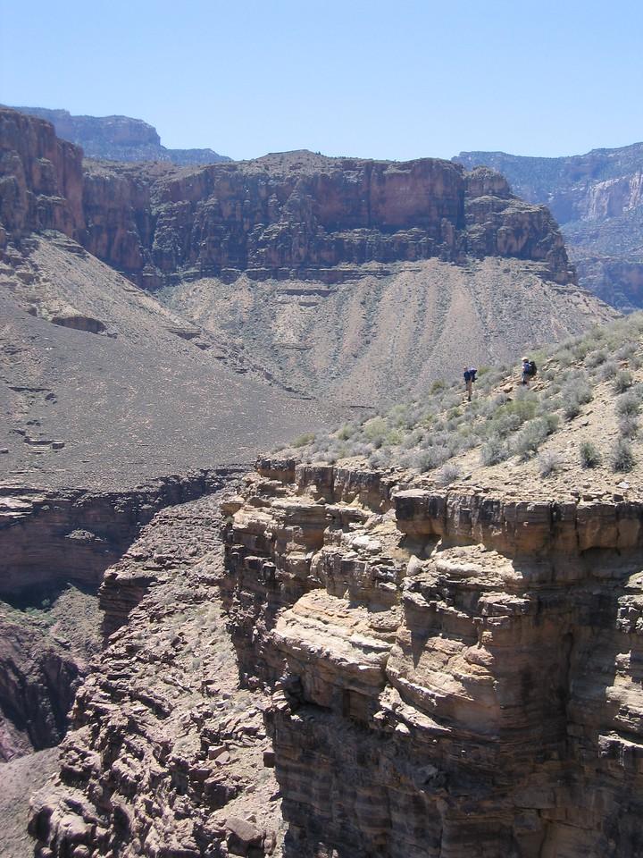 Entering Grapevine Canyon