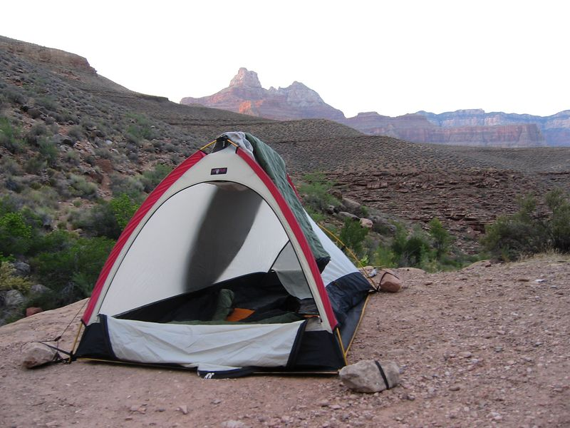 Campsite at Lonetree