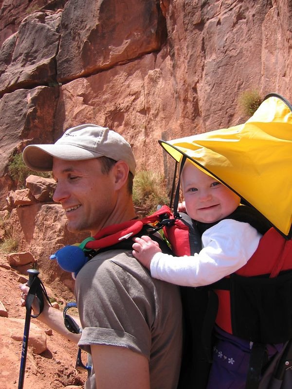 Great young hiker, one that Ranger Ben thought should be back up on the South Rim