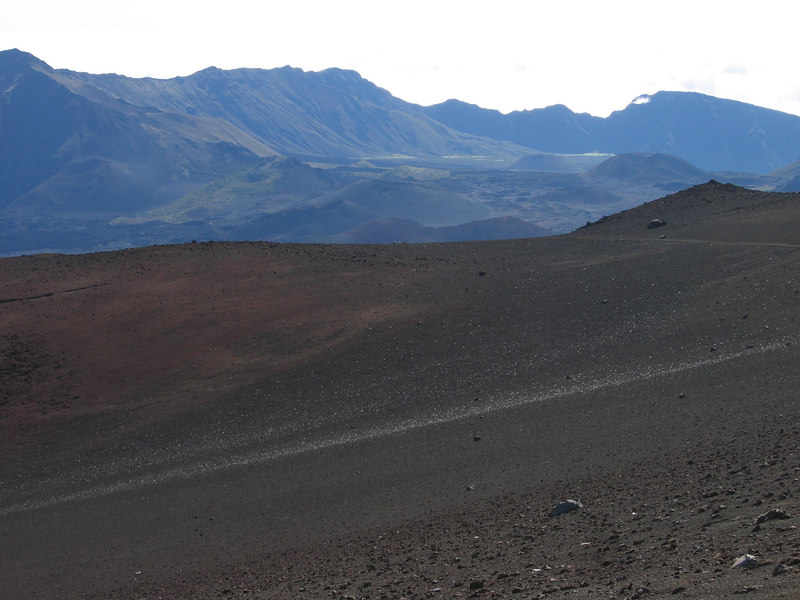 """that's why it's called """"Sliding Sands"""" trail"""