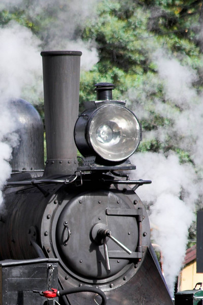 So we sat and watched Puffing Billy steam up in preparation for setting out.