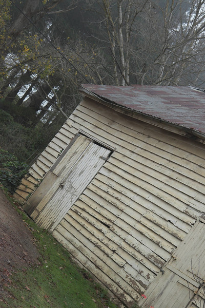 I assume that this shed had been left a little dilapidated to add some character. Everything else was in immaculate condition.