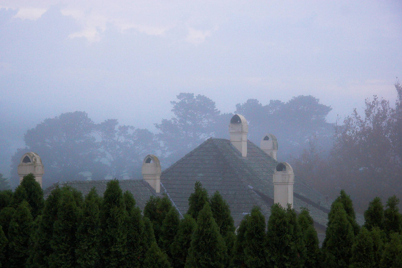 This is the view from my room (which I shared with Nigel) towards the Manor house.