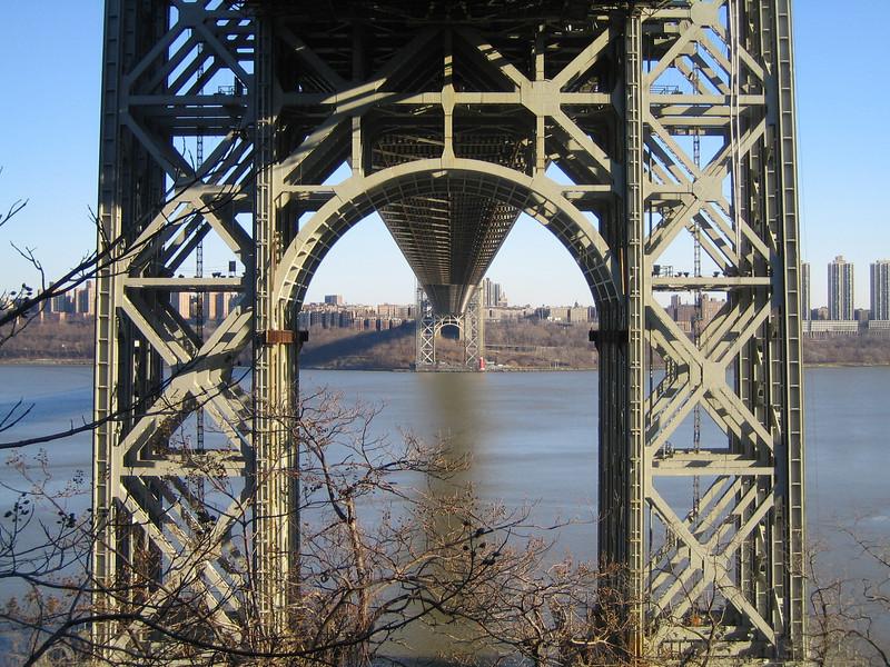 2005 - George Washington Bridge & Little Red Llighthouse
