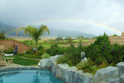 Rainbow at Annette's House