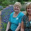 Sisters, Diane + Linda, a long the Bluebonnet trail