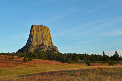 Devils Tower, Wyoming.