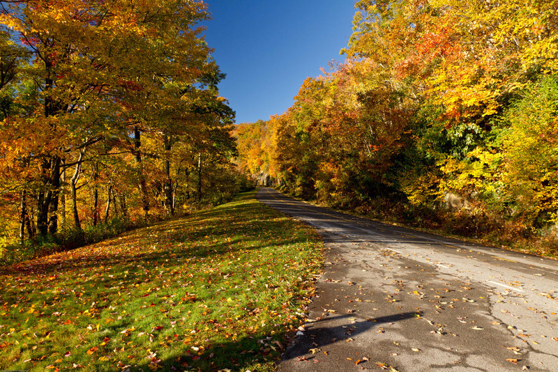 Along the Blue Ridge Parkway, NC