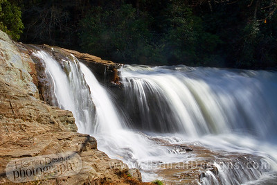 Hooker falls in DuPont State Forest.