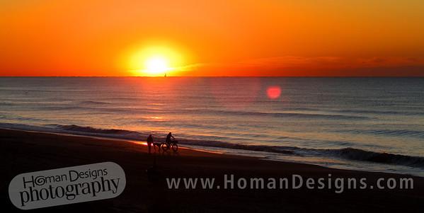 Oct. 16 sunrise over Emerald Isle.
