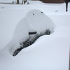 buried car, this year's edition