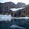 Grinnell Glacier & Salamander Glacier<br /> Glacier National Park