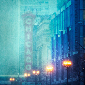 Chicago Theater 2011 Snowstorm