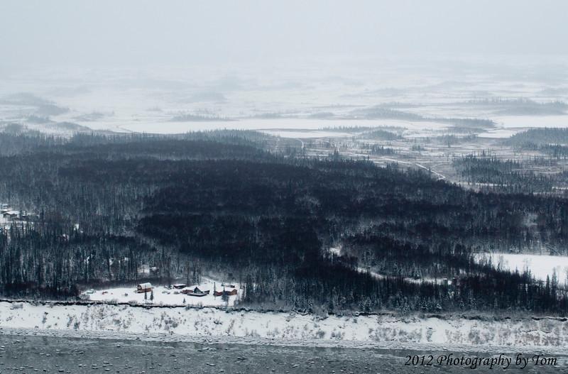 Shoreline of Cook Inlet, Alaska 11/2012