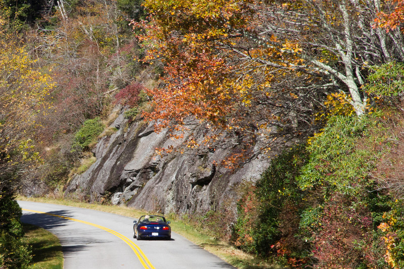 Along the Blue Ridge Parkway