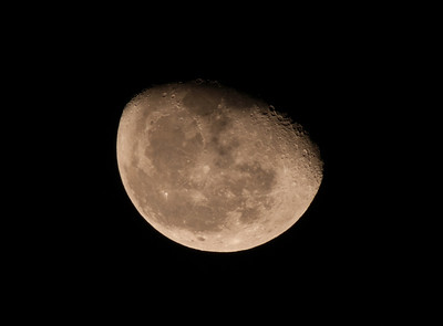 Moon, Jan 2, 2013 (cropped)