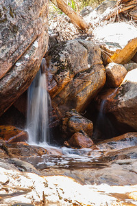 Hidden waterfall in the gramps