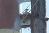July 20, 2013 (Darst Bottom Road / Defiance, Saint Charles County, Missouri) -- Female Scissor-tailed Flycatcher on nest