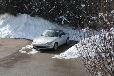 20130307 Miata and the Snow!
