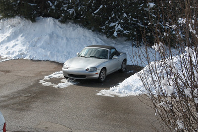 20130308 Miata and the Snow!