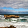 What is left of London bridge, port campbell