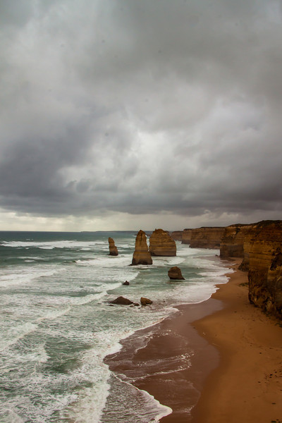 Dark and stormy 12 apostles