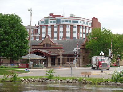 Red Wing Visitor Center & St. Jame Hotel