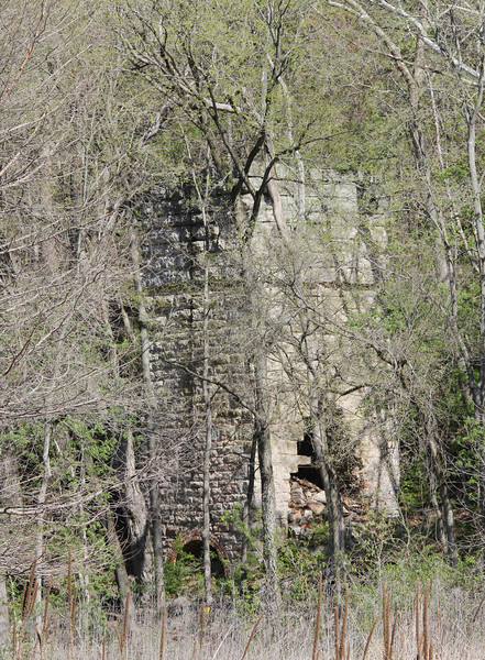 Lime Kiln ruins @ Rockwoods Reservation