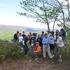 Ferrum College and Master Naturalist Group at DeHart Lookout
