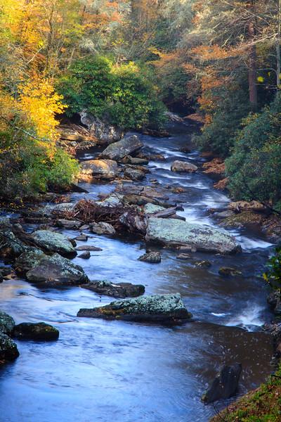 Below Dry Falls, Highlands NC