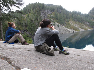 2014.10.12 Hiking - Lake Serene