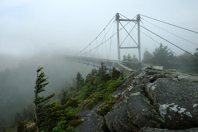 Mile High bridge - Grandfather Mountain State Park