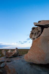 Sunset at Remarkable Rocks