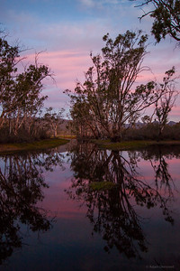 An evening at Moora Moora Reservoir