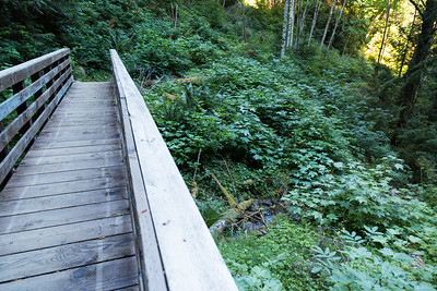 Footbridge over Granite Creek