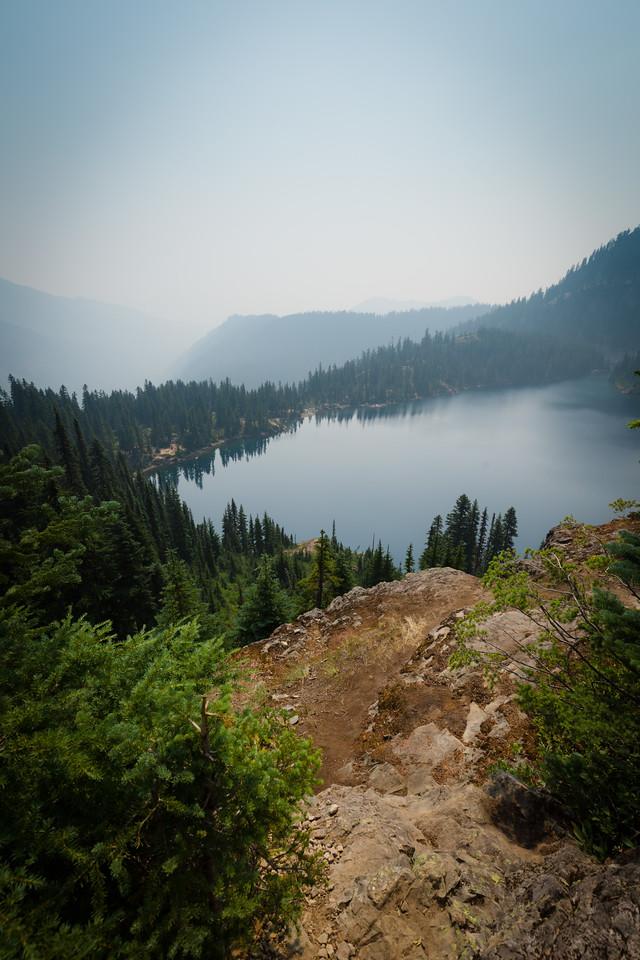Northwest end of Rachel Lake, looking South