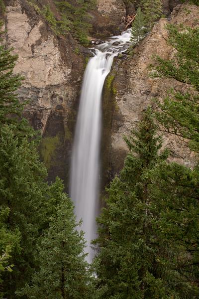 Tower Falls, Yellowstone National Park.