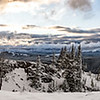 HDR-Panoramic from Dunraven Pass, Yellowstone National Park.