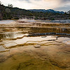 Upper Terraces, Mammoth Hot Springs, Yellowstone National Park.