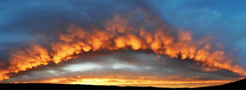 Pano Arch sunset Big Fin