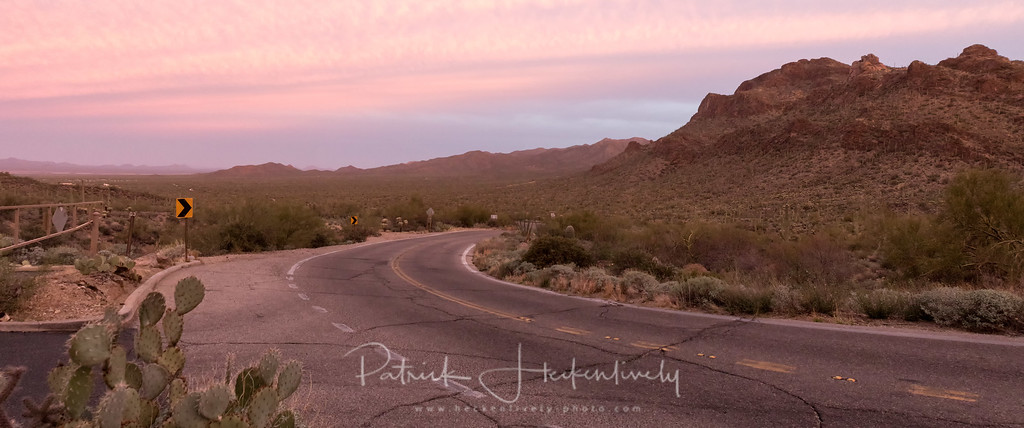 I took this on a scenic lookout on the way to the Sonora Desert Museum.  This started as half a dozen vertical slices that I sitched in photoshop.  #Desert #Landscape