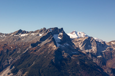 Buck Mountain and an awesome view of Glacier Peak