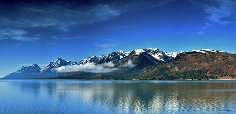 Pano Jackson Lake/ Tetons