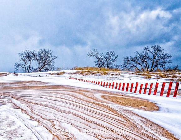 Snow Fence - 2019 Calendar December