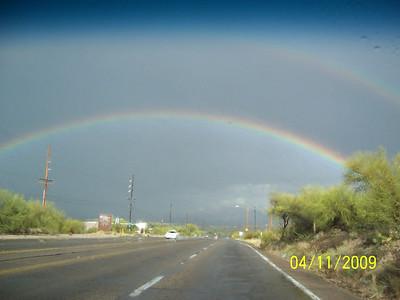 A Mountain, Tucson Rainbow