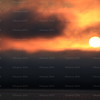 Tora! Tora! Tora!<br /> A fiery sunrise climbing out of the fog clinging to the surface of Queen Charlotte Sound, Northern BC