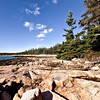 Shore in Wonderland area of Acadia National Park